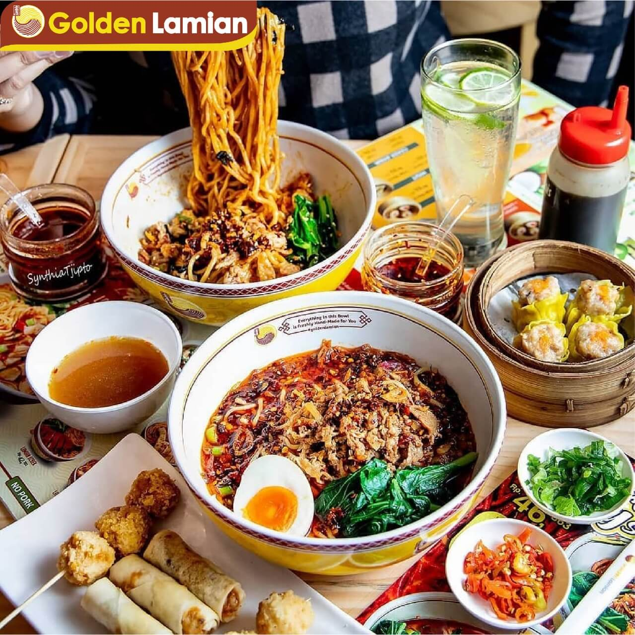 Golden Lamian Halal Chinese Noodles